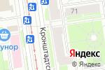 Схема проезда до компании Озерки в Санкт-Петербурге