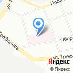 Противотуберкулезный диспансер №16 на карте Санкт-Петербурга