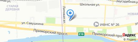 Портал-Инжиниринг на карте Санкт-Петербурга