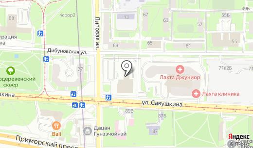Портал-Инжиниринг. Схема проезда в Санкт-Петербурге