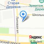 Аревик на карте Санкт-Петербурга