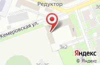 Схема проезда до компании Комлиз-Полиграфия в Санкт-Петербурге