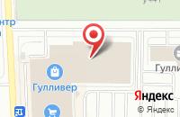 Схема проезда до компании Артеола в Санкт-Петербурге