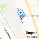 Параллель на карте Санкт-Петербурга