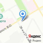 Международная академия наук экологии на карте Санкт-Петербурга