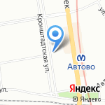 Батя на карте Санкт-Петербурга