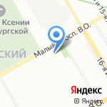 HORIS на карте Санкт-Петербурга