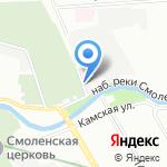 Лаборатория противодействия промышленному шпионажу на карте Санкт-Петербурга