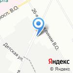 Р.О.С.ПРОМНЕФТЬ на карте Санкт-Петербурга