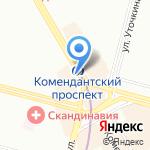 Оранж на карте Санкт-Петербурга