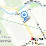 Новый город СПБ на карте Санкт-Петербурга
