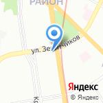 Кега на карте Санкт-Петербурга