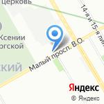 Пятая скорость на карте Санкт-Петербурга