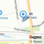 Врачебно-физкультурный диспансер №3 на карте Санкт-Петербурга