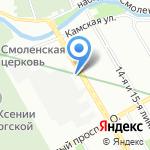 Техносекьюрити на карте Санкт-Петербурга