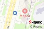 Схема проезда до компании Центр фитнес реабилитации в Санкт-Петербурге