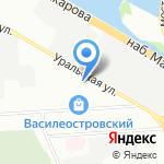 Современные полы на карте Санкт-Петербурга
