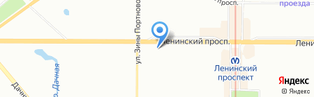 Король Гамбринус на карте Санкт-Петербурга