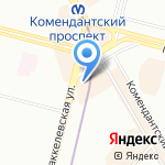 Волховец на карте Санкт-Петербурга