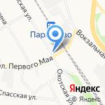 Сеть мастерских по изготовлению памятников на карте Санкт-Петербурга