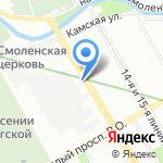 ПрофСтрой на карте Санкт-Петербурга