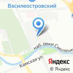 Звукоцех на карте Санкт-Петербурга