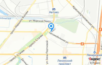 Местоположение на карте пункта техосмотра по адресу г Санкт-Петербург, пр-кт Стачек, д 108