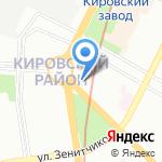 Лондазин на карте Санкт-Петербурга