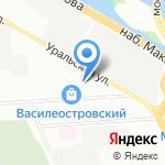 Готика на карте Санкт-Петербурга
