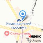 Мегафон на карте Санкт-Петербурга