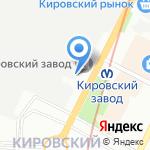 КСМ СПб на карте Санкт-Петербурга