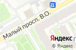 Схема проезда до компании Единый центр новостроек Тренд в Санкт-Петербурге