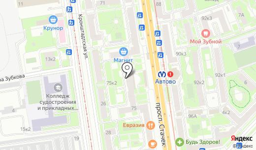 Шаг Навстречу. Схема проезда в Санкт-Петербурге