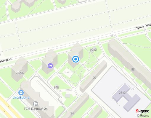 Жилищно-строительный кооператив «ЖСК №394» на карте Санкт-Петербурга