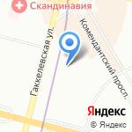 АртСмайл на карте Санкт-Петербурга