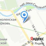 ЭФО ЭЛЕКТРО на карте Санкт-Петербурга