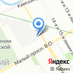 Институт Сетевых Технологий на карте Санкт-Петербурга