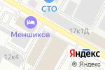 Схема проезда до компании Домотехника в Санкт-Петербурге