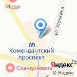 Газпромбанк на карте Санкт-Петербурга