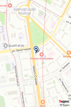 ФИЛИАЛ САНКТ-ПЕТЕРБУРГСКИЙ АКБ АВАНГАРД на карте Санкт-Петербурга