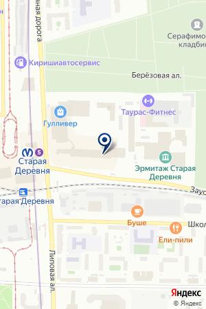 Калейдоскоп подарков на карте Санкт-Петербурга