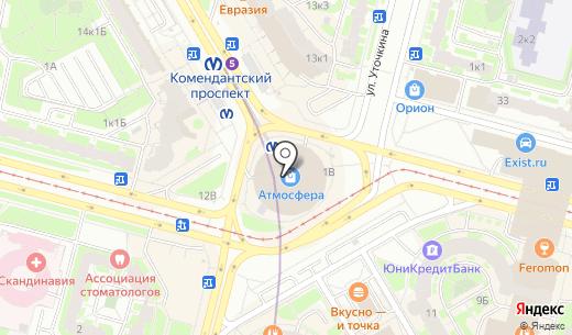 Оранжевый слон. Схема проезда в Санкт-Петербурге