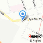 Автоэкспресс на карте Санкт-Петербурга