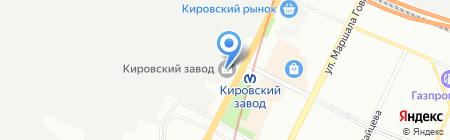 Невская практика на карте Санкт-Петербурга