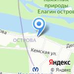Альбион на карте Санкт-Петербурга