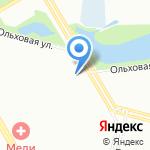44 отдел полиции на карте Санкт-Петербурга