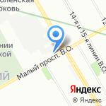 Runflat на карте Санкт-Петербурга