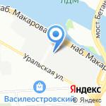 ГрадМакет на карте Санкт-Петербурга