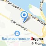 Синергия на карте Санкт-Петербурга