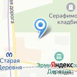ЮРИЭМ-2 на карте Санкт-Петербурга